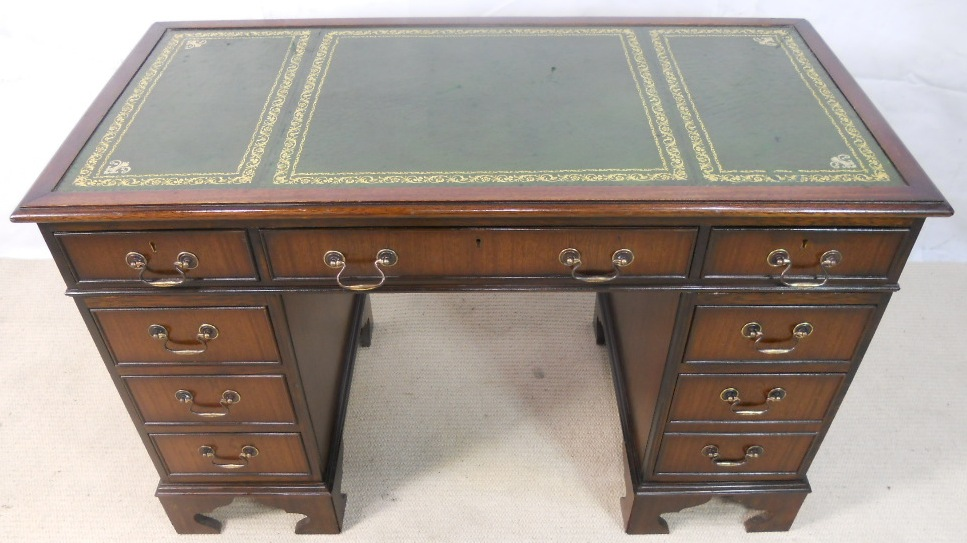leather topped writing desk Adjustable fixed & adjustable apply desk type double pedestal single  pedestal executive writing apply table top wood glass mixed media  leather.