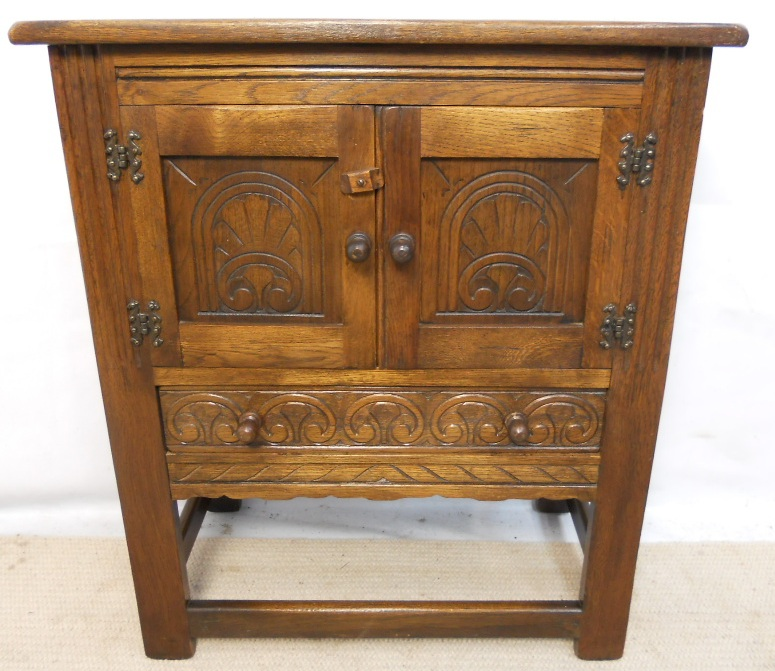 Carved Oak Small Cabinet Cupboard SOLD : carved oak small cabinet cupboard sold 2543 p from www.harrisonantiquefurniture.co.uk size 775 x 671 jpeg 217kB