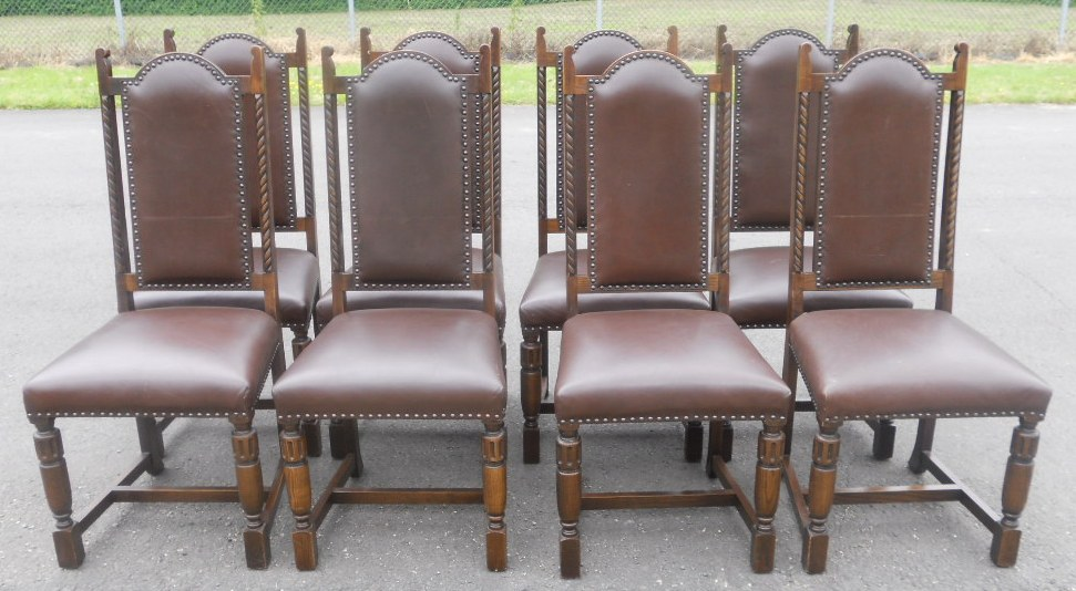dining table eight chairs by jaycee sold