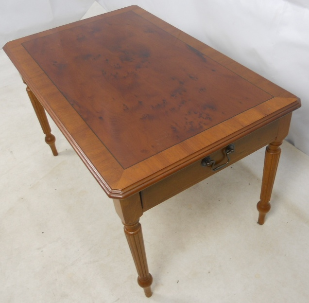 Georgian style yew coffee table sold for Yew sofa table