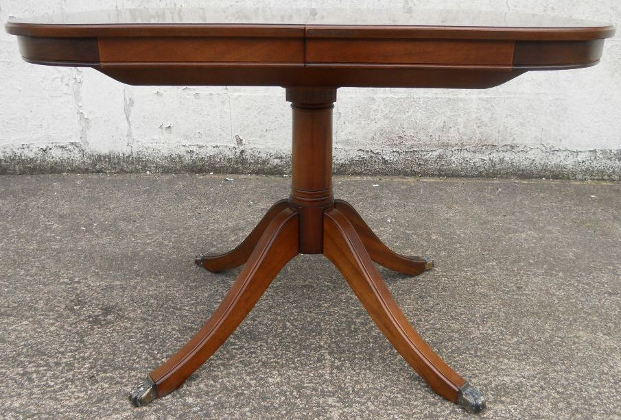 Small Mahogany Extending Dining Table To Seat Six By